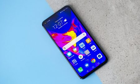 Honor 20 Pro outline renderings exposure: rear four shots, black and white blue