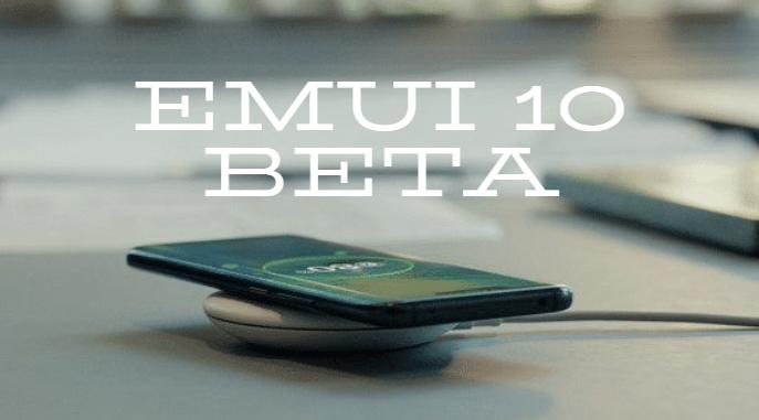 EMUI 10.0 beta