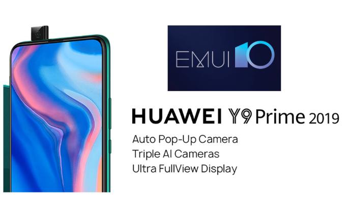 Huawei Y9 Prime 2019 EMUI 10 beta
