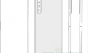 flip folding screen patent