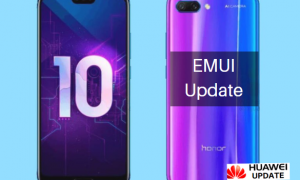 Honor 10 getting new software update