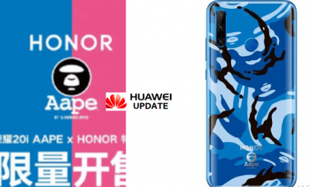 Honor 20i AAPE Special Edition