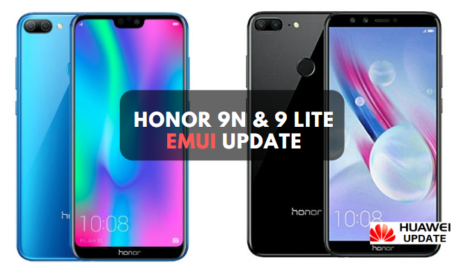 Honor 9N And 9 Lite EMUI update