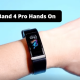 Huawei Band 4 Pro Unboxing and Hands-on Images
