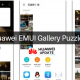 Huawei EMUI gallery puzzles