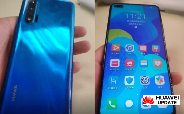 Huawei Nova 6 5G hands-on images leaked