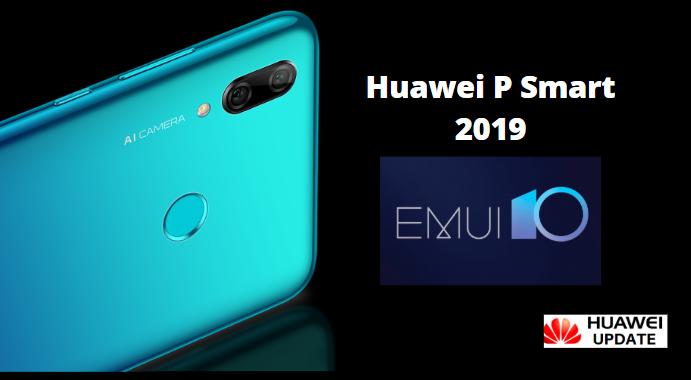 Huawei P Smart 2019 emui 10