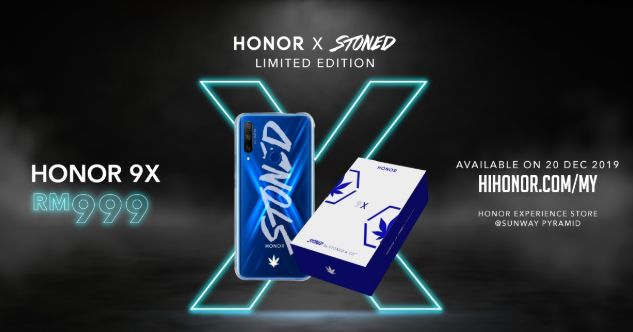 Honor 9X Stoned special edition