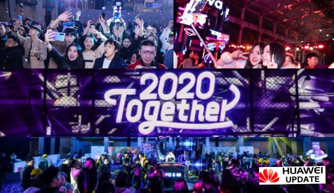 2020 Together with Huawei nova6 5G