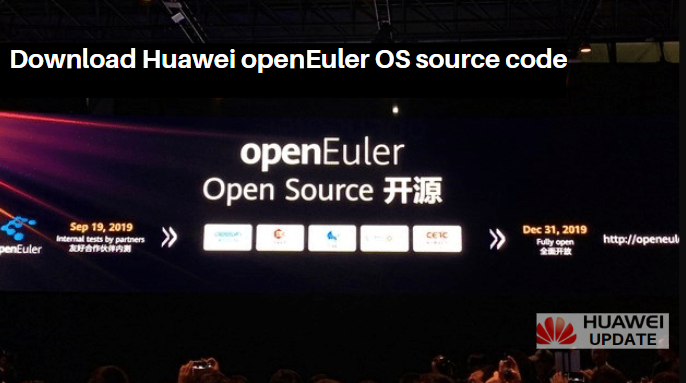 Download Huawei openEuler source code
