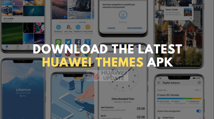 Download the latest Huawei Themes APK