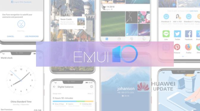 EMUI 10 Update in 2020 List
