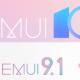 EMUI 10 and EMUI 9.1