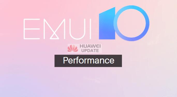 EMUI 10 performance