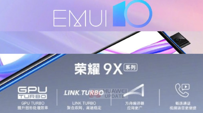 Honor 9X EMUI 10 public beta