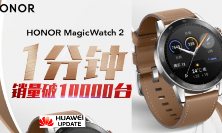 Honor MagicWatch 2 10000 unit record