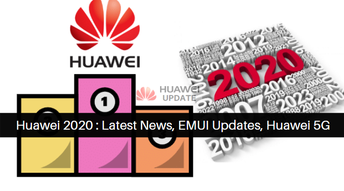 Huawei 2020: Latest News, EMUI Updates, Huawei 5G