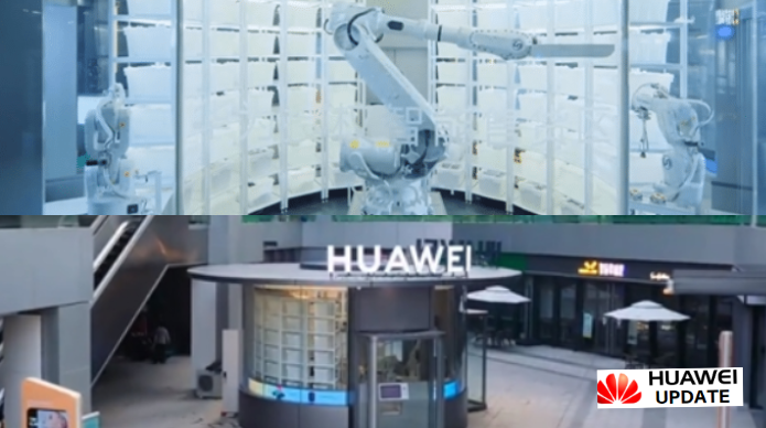 Huawei First Smart Unmanned Store