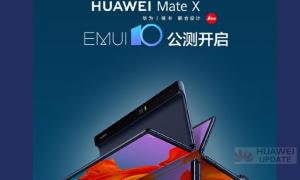 Huawei Mate X EMUI 10 beta