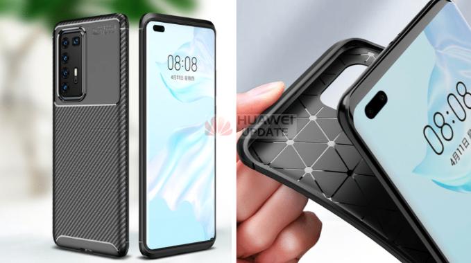 Huawei P40 Pro case renders leak