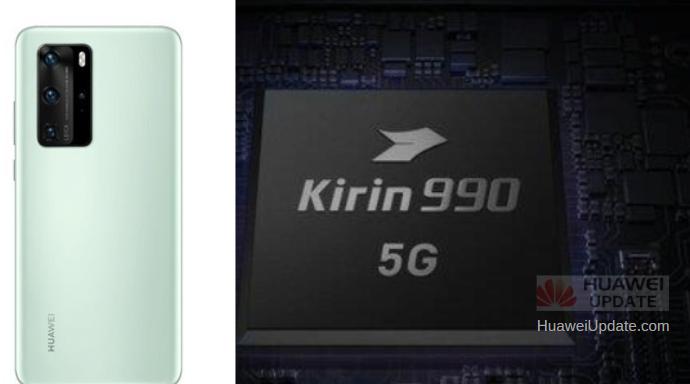 Huawei P40 Series Chipset Parameters