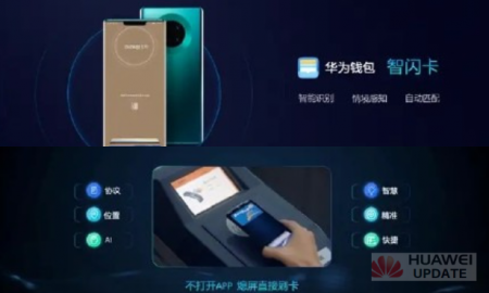 Huawei Pay flash cards