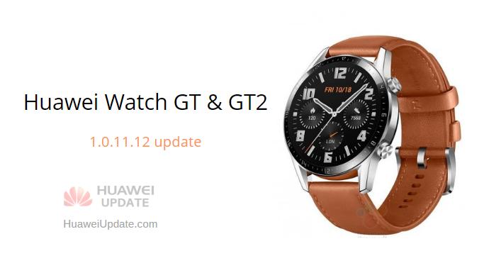 huawei watch gt2 update