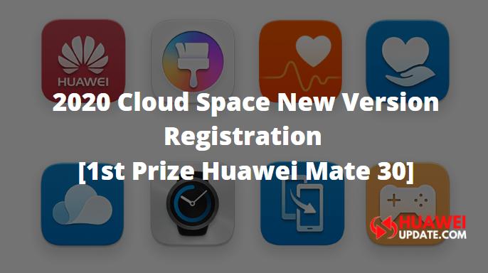 Huawei 2020 cloud space