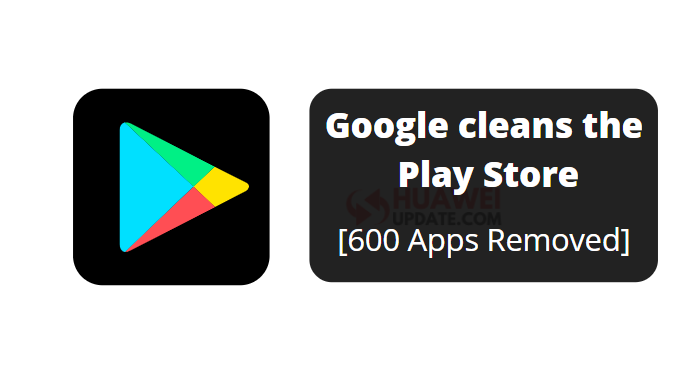600 Apps Removed
