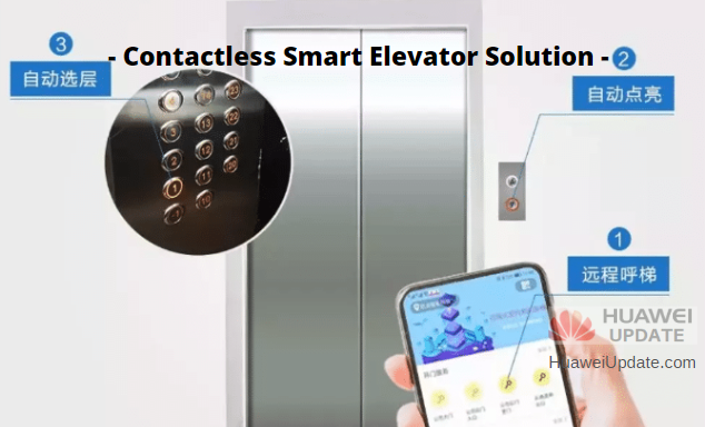 Contactless Smart Elevator Solution