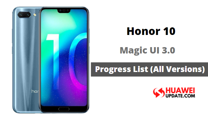 Honor 10 Magic UI 3.0