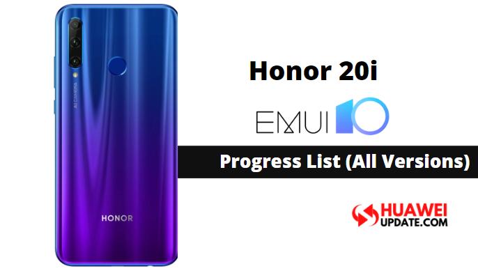 Honor 20i EMUI 10
