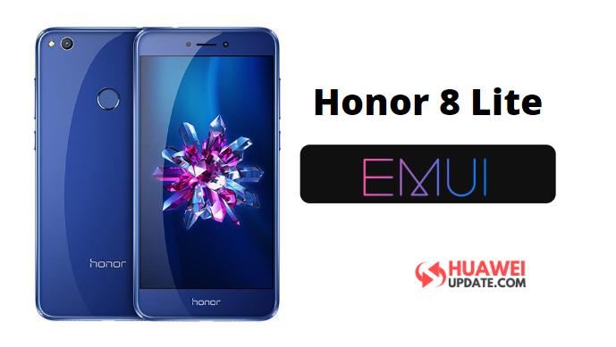 Honor 8 Lite EMUI Update
