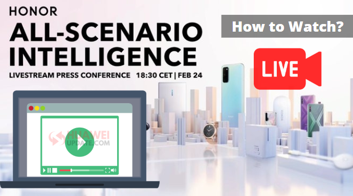 How to watch Huawei & Honor Livestream