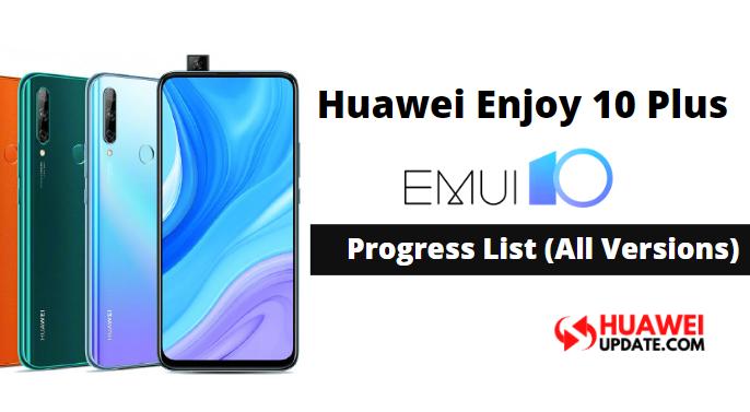 Huawei Enjoy 10 Plus EMUI 10
