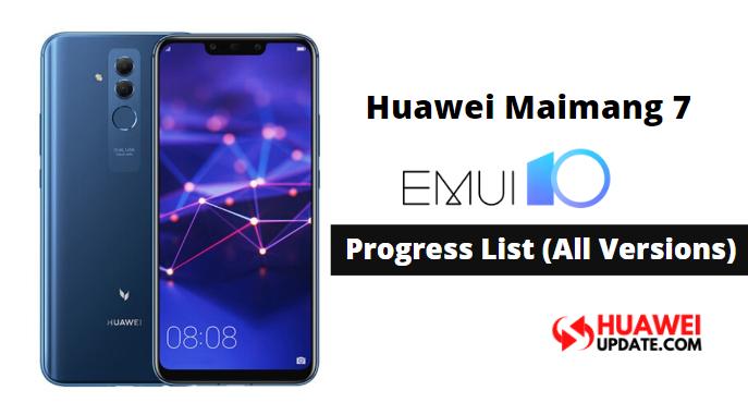 Huawei Maimang 7 EMUI 10