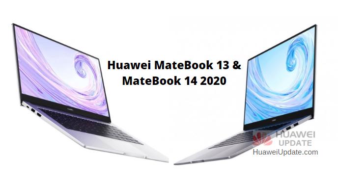 Huawei MateBook 13 and MateBook 14 2020