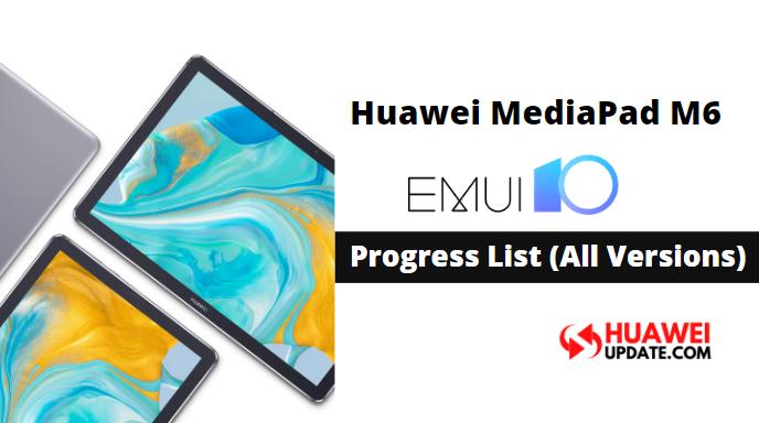 Huawei MediaPad M6 EMUI 10