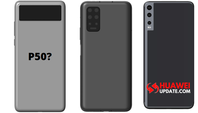 Huawei New Patent (May be P50)