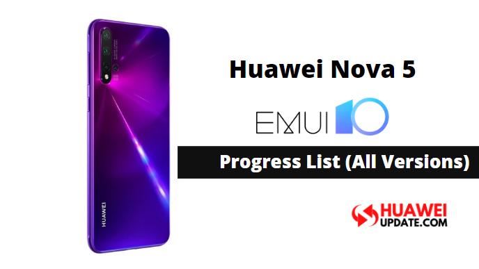 Huawei Nova 5 EMUI 10