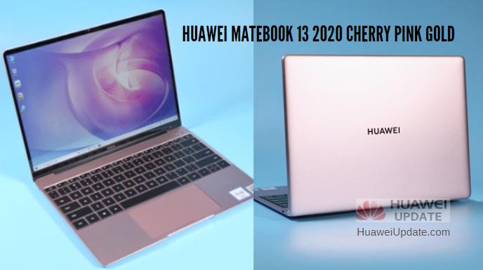 MateBook 13 2020 Cherry Pink Gold