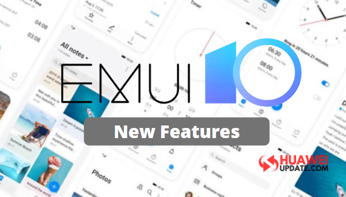 EMUI 10 new features