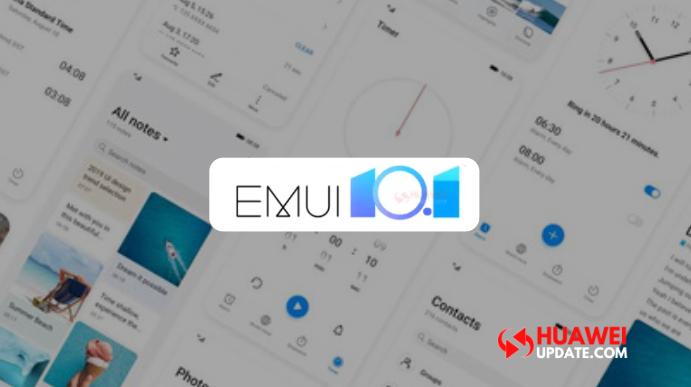 EMUI 10.1 first update