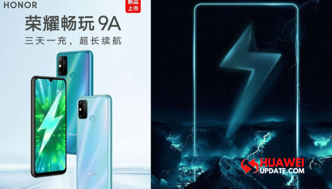Honor Play 9A leaked poster