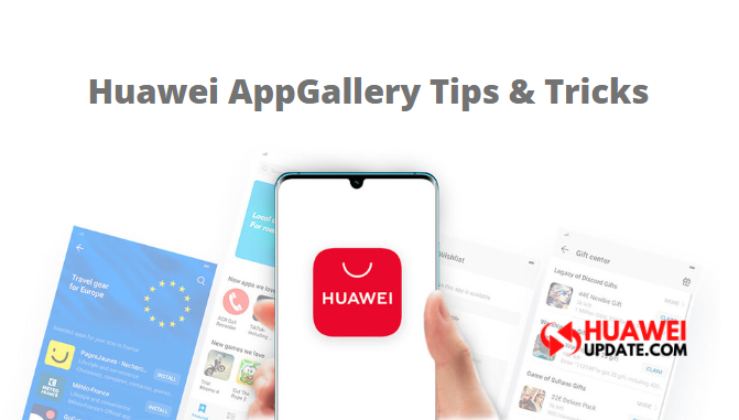 Huawei AppGallery tips and tricks