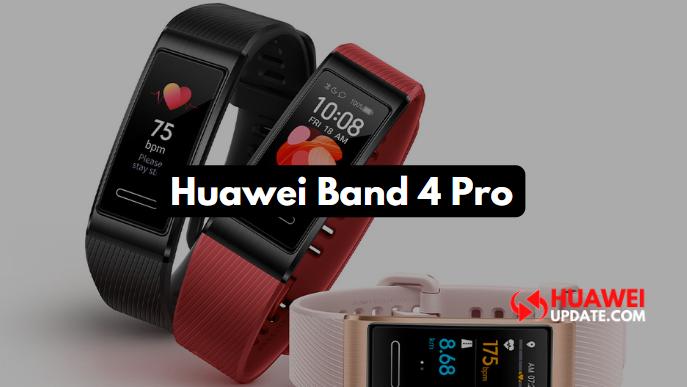 Huawei Band 4 Pro update