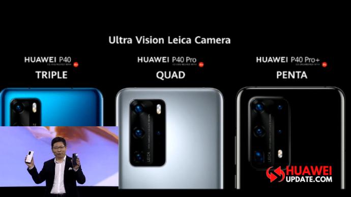 Huawei P40, P40 Pro, P40 Pro Plus Specs