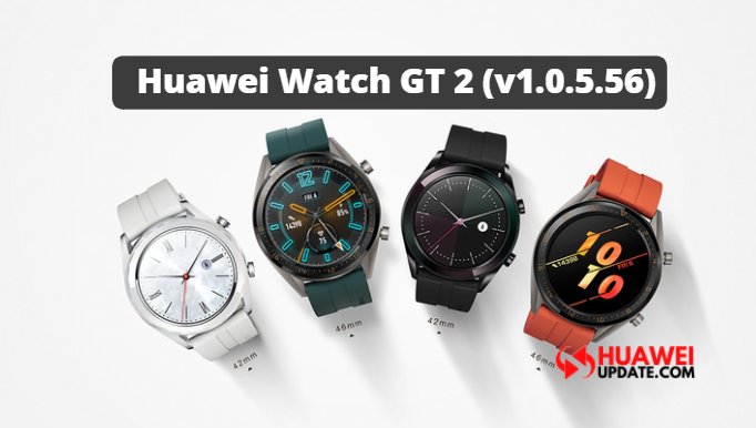 Huawei Watch GT 2 update 1.0.5.56