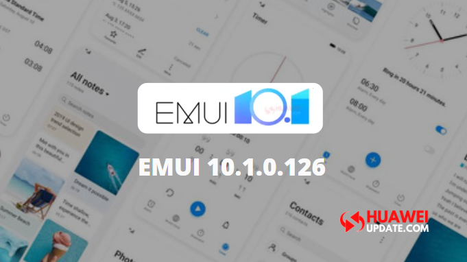 The first Huawei EMUI 10.1 version