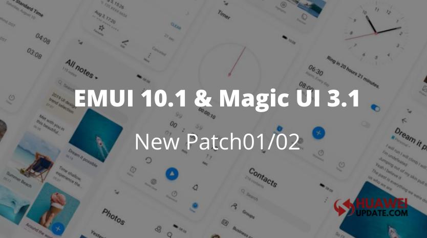 EMUI 10.1 and Magic UI 3.1 released